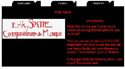 MINIQUEST SOBRE ERIK SATIE
